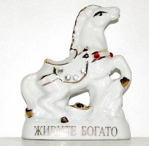 Сувенир Лошадь керамич. арт.F2156С (кор.360) фото