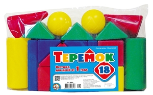 Теремок-18 эл. (пакет) арт.00881 (упак10) фото