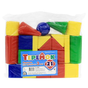 Теремок-21 эл. (пакет) арт.00882 (упак.10) фото