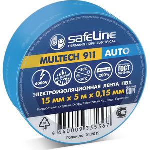 Изолента Safeline Auto 15/5 синий (обтяжка 10шт.)арт.22897 фото