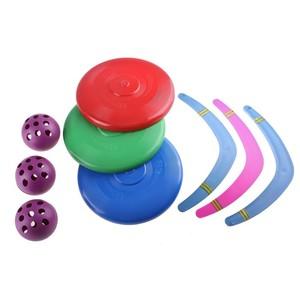 Летающая игрушка №1(Бумаренг мал., Летающая тарелка, Мяч), арт.365 фото