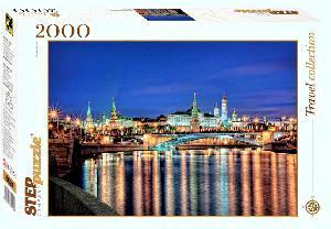 """Пазл 2000 """"Москва. Набережная"""". арт.84024 фото"""
