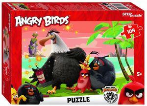 """Мозаика """"puzzle"""" 104 """"Angry Birds"""", арт.82191 фото"""