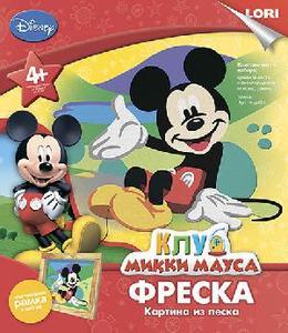 """Фреска. Картина из песка  Disney """"Микки"""" арт.Кпд-001 фото"""