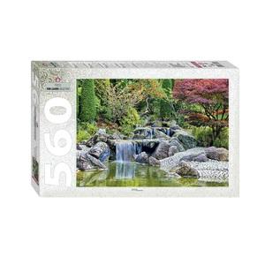 """Мозаика """"puzzle"""" 560 """"Каскадный водопад в японском саду"""", арт.78103 фото"""