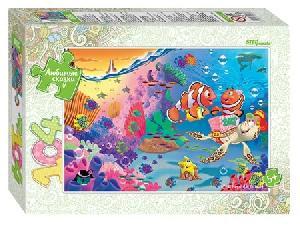 """""""Мозаика """"""""puzzle"""""""" 104 """"""""Подводный мир"""""""" (Любимые сказки), арт.82033 фото"""