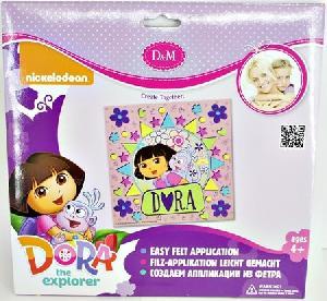 """Набор для создания аппликации из фетра """"Лучшие друзья"""" Dora, арт.57982 фото"""