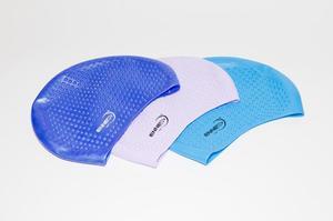 шапочка для плавания с пупырышками  арт.7878-2 (кор.396) фото