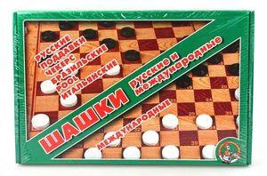 Шашки большие  арт.01068 фото