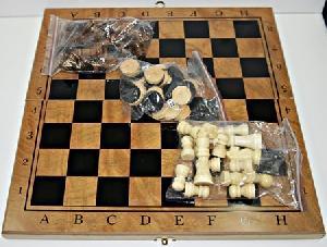 Шахматы пластмассовые, арт.25712-6 фото