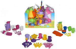Набор детской посуды (дисплей №10) Polesie арт.49513 фото