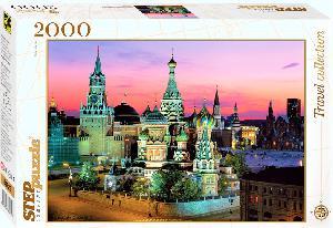 "Пазл 2000 ""Собор Василия Блаженного"". арт.84025 фото"