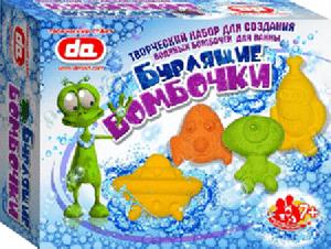 """Набор бурлящие бомбочки для ванны """"Инопланетяне"""" арт.ДА17001 фото"""