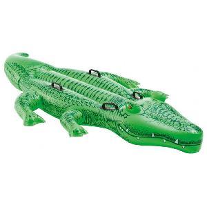 Надувной огромный крокодил 203/114см арт.58562NP (кор.6) фото