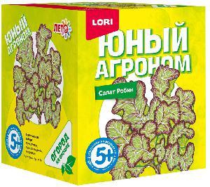 """Юный агроном """"Салат Робин"""" арт.Р-014 фото"""
