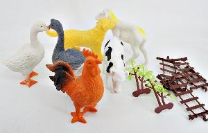 Набор животных (в кор.84), арт.Q901-6 фото