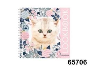 Альбом для творчества My Little Kitten (альбом, наклейки), арт.65706 фото
