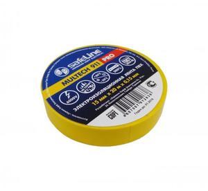 Изолента Safeline 15/20 желтый, арт.9361 фото