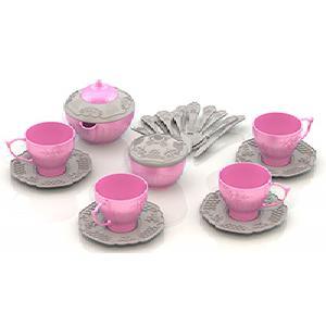 """Набор посуды """"Чайный сервиз """"Волшебная хозяюшка"""" (20 предм. в сетке) арт.613/1 фото"""