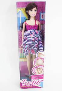 Беременная кукла (в кор.144), арт.YT041-1 фото