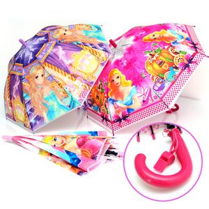 Зонтик детский cо свистком, п/авт., 8спиц, R-50, арт.1118 фото