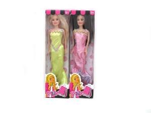 """Кукла 11.5"""" в длинном платье и гнущимися ногами в кор, арт.42448 фото"""