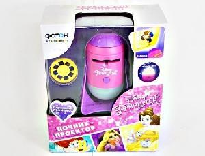 """Ночник- проектор со сменными дисками """"ФОТОН"""", Disney """"Принцесса"""", PND-30, арт.23038 фото"""