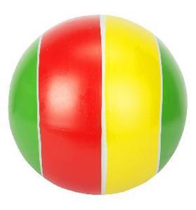 Мяч 150 мм лакир 22ЛП (полоса) арт.с-22ЛП (1/16) фото