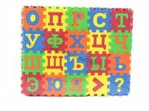 Пазл-коврик буквы 60 дет. EVA в плен., арт.42413 фото