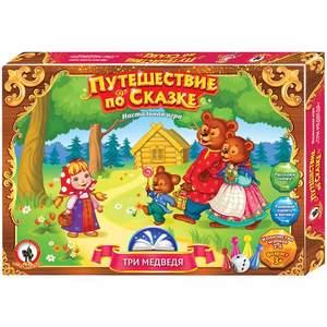 """Игра настольная. Путешествие по сказке """"Три медведя"""", арт. 03043 фото"""
