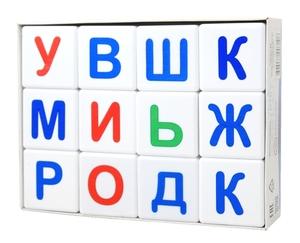 """Кубики """"Учись играя. Азбука"""" 12 шт (без обклейки), арт.00710 фото"""