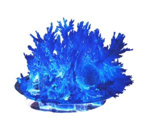 "Лучистые кристаллы ""Синий кристалл"" арт. Лк-002 фото"