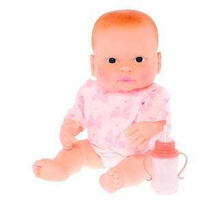 Кукла Пупс Маруся музыкальный интерактивный с бутылочкой 35см (Коробка ), арт.ПУ35-4 фото