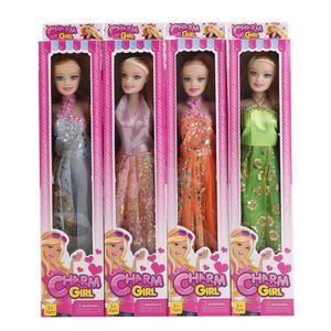 """Кукла 11,5"""" простая в ассортименте  в кор. арт.46942 фото"""
