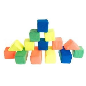 Набор кубиков мягконабивных 14 шт, арт.11234 фото