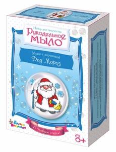 """Набор для изготовления мыла. Рукодельное мыло с картинкой """"Дед Мороз"""", арт.02628 фото"""
