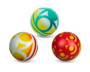 Мяч д.100мм окраш.по трафарету (любой), арт.Р4-100 фото