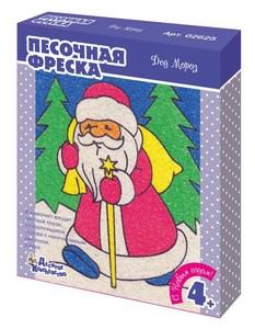 """Набор для творчества. Песочная фреска """"Дед Мороз"""", арт.02625 фото"""