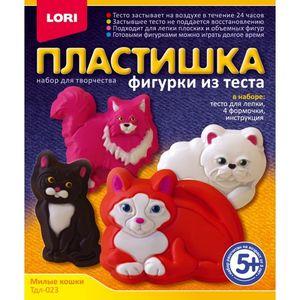 """Фигурки из теста """"Милые кошки"""" арт. Тдл-023 фото"""