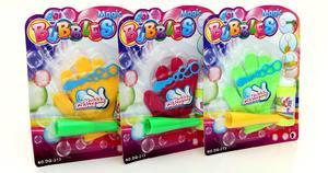 Игрушка: Мыльные пузыри «Не лопающиеся с перчатками», арт.Z0881 фото