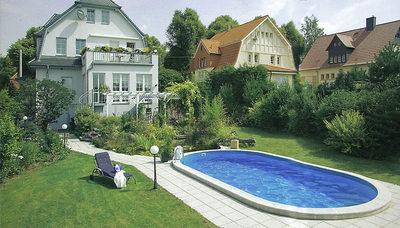 Как выбрать каркасный бассейн для дачи по типу каркаса, материалам, производителям