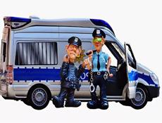 Детские наборы полицейского и пожарного оптом с доставкой по России картинка