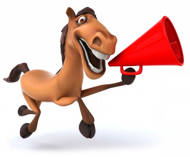 Мягкая игрушка лошадь оптом в интернет-магазине - Alba картинка