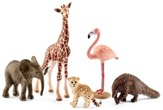 Набор фигурок животных для детей оптом на сайте - Alba картинка