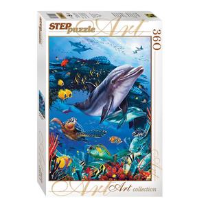 Пазл 360 Подводный мир арт.73061 фото