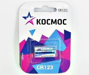 Эл.питания КОСМОС CR123 1*BL арт.КОСCR1231BL фото