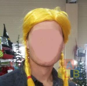 Парик арт.2462-11 (кор.200) желтые косы фото