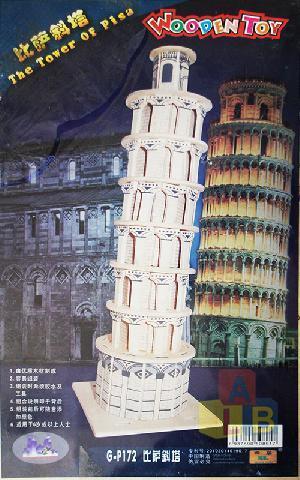 Сборная модель Башня  (дерев.) арт.2013А-2 (кор.20) фото