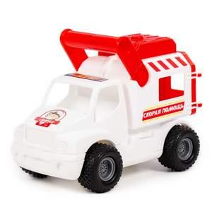 КонсТрак - скорая помощь,  автомобиль (в сетке)  арт.0490 (кор.9) фото