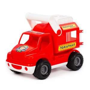 КонсТрак - пожарная команда,  автомобиль (в сетке)  арт.0506 (кор.9) фото